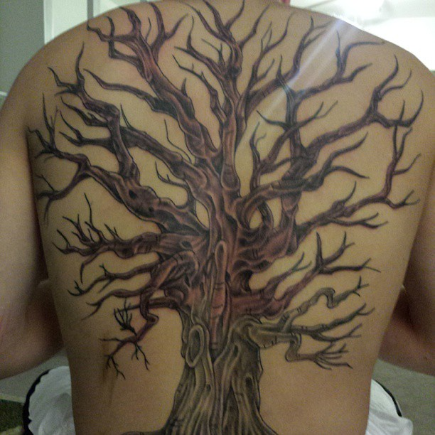 Bad Picture But I Got To Finish This Backpiece Family Flickr