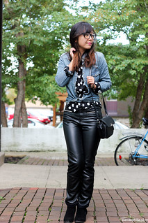 hipsters wear leather | by pandaphilia