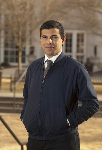 Azeem Ahmed, winner of the 2014 President William Jefferson Clinton Hunger Leadership Award. | by Auburn University