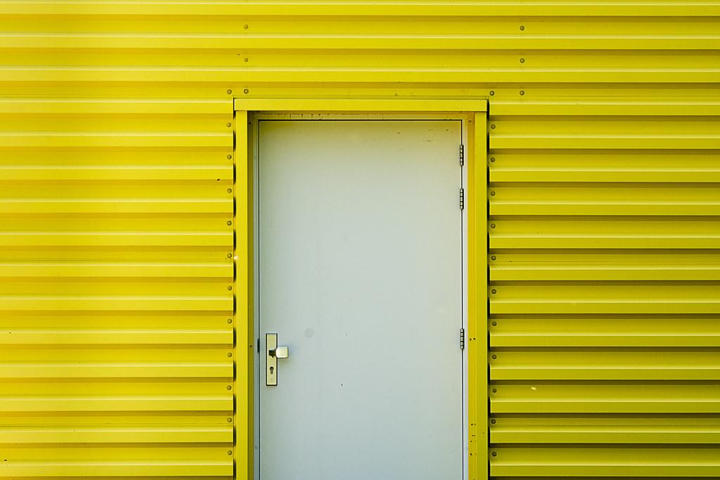 ... White door yellow wall | by Jan van der Wolf  sc 1 st  Flickr & White door yellow wall | Jan van der Wolf | Flickr