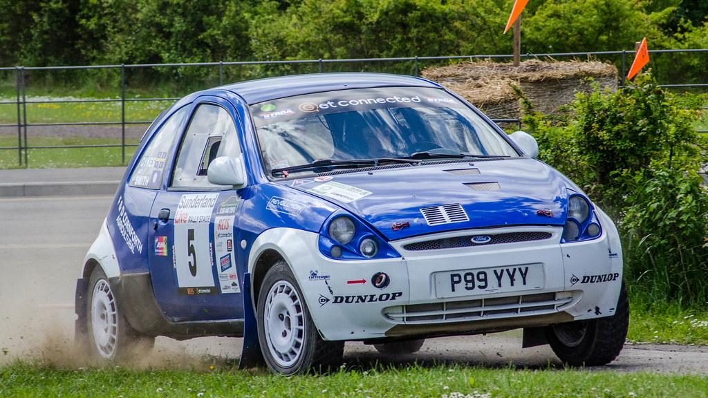 Ford Ka Rally Car By Hutchy