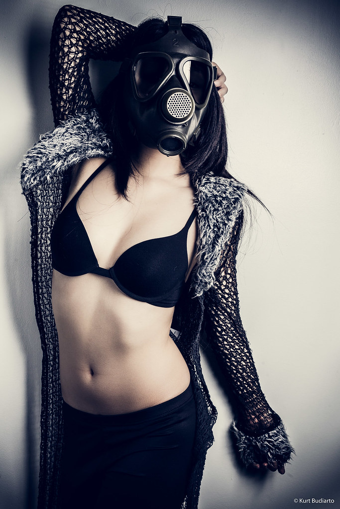Girls In Gas Mask
