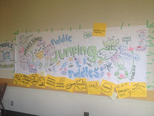 #CNIE2014 keynote, Puddle Jumping by @NancyWhite drawn by @trass @draggin | by giulia.forsythe