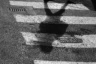 Shadow on crosswalk | by Virtual - MostlyVirtual.COM