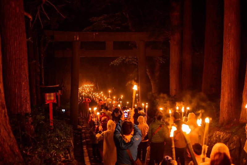 大山夏山開き祭 2016.6-14