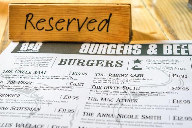 Burgers & Beers Edinburgh