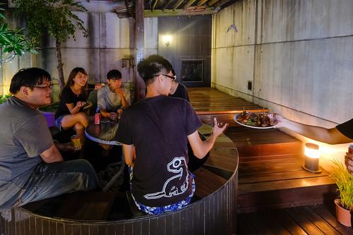 汽車旅館也可以烤肉!來台南媜13汽車旅館空中花園烤肉去 (10)