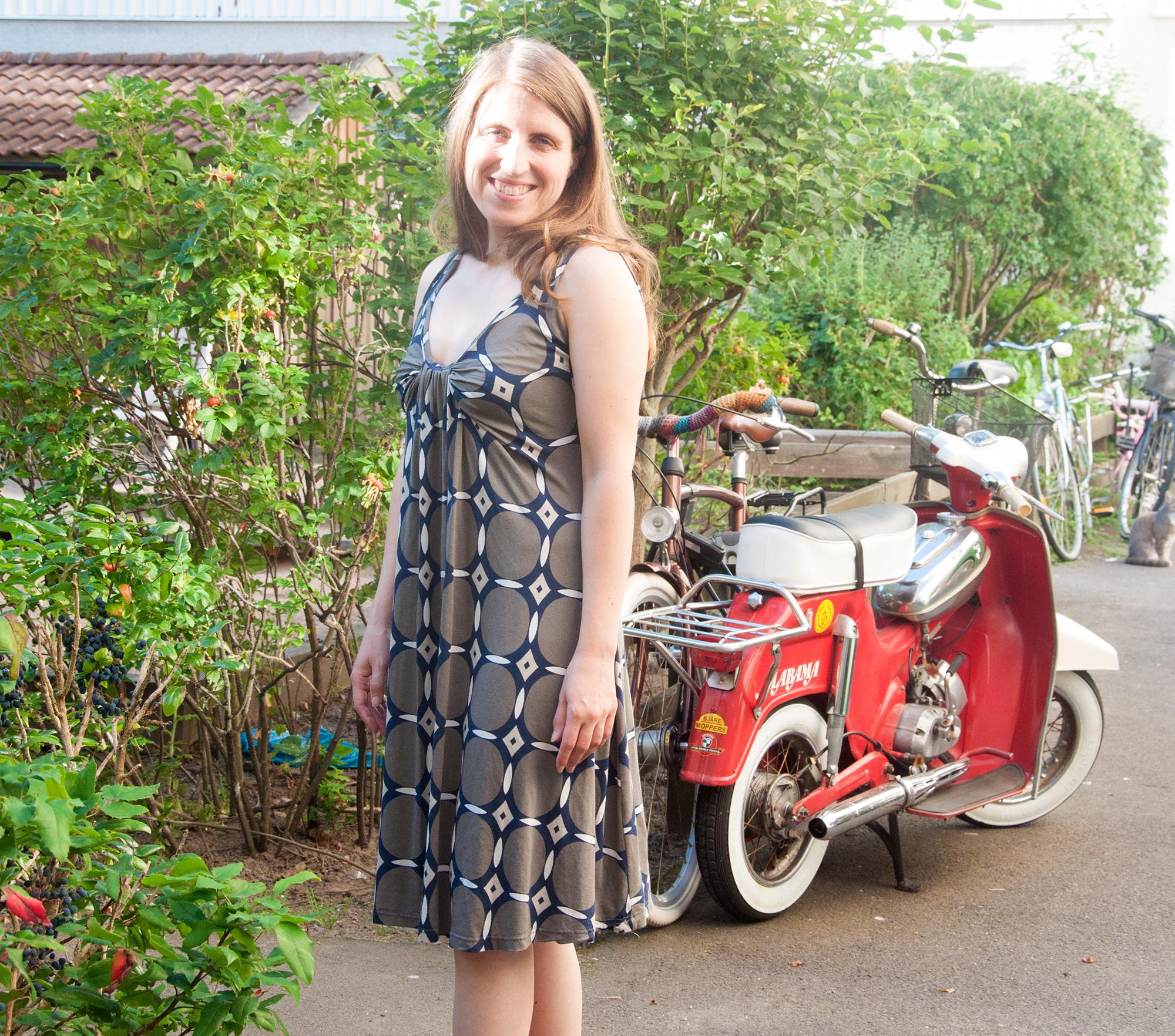 Burdastyle dress issue 2/2013