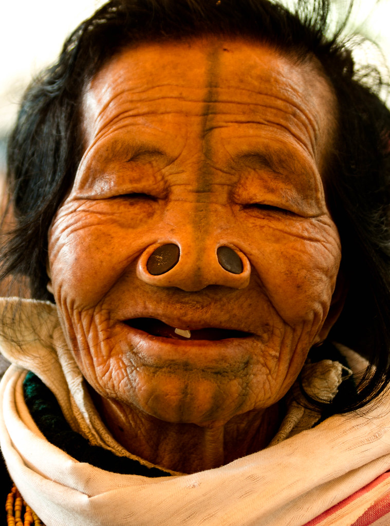 Smile Old Apatani Lady After A Few Rice Beers Her Not Me Flickr