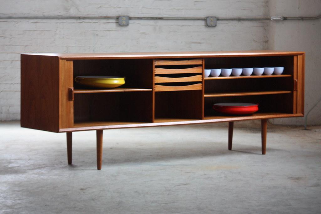Danish Credenza Hutch : Unforgettable danish mid century modern teak tambour door u2026 flickr
