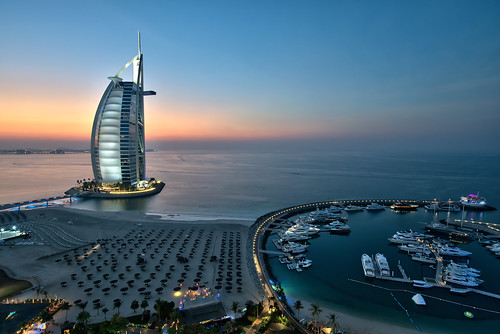 Burj Al Arab - Sunset | by mattharvey1