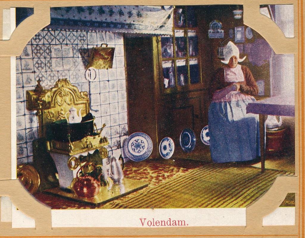 Mooi Nederland album 1916 Volendam interieur | janwillemsen | Flickr