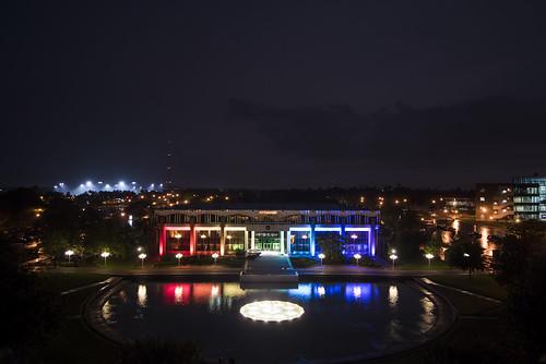Millican Hall shows it Pride