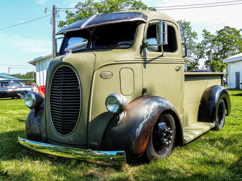 1938 Ford Coe Pickup Truck Cincy Street Rods Car Show At T Flickr