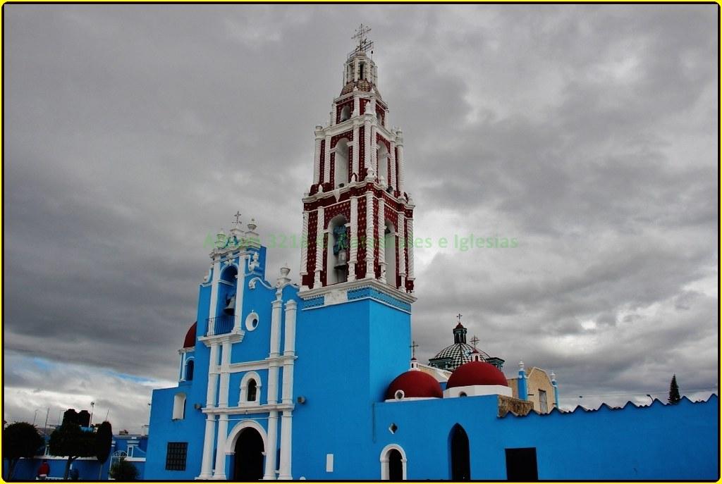 Parroquia Santa Maria Actipan Actipan De Morelos Acatzingo Flickr