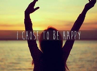 i choose to be happy quotes