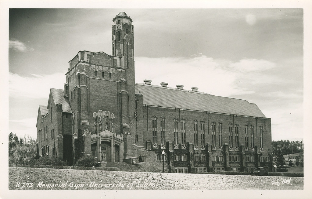 ... University Of Idaho, Circa 1940s   Moscow, Idaho | By Shook