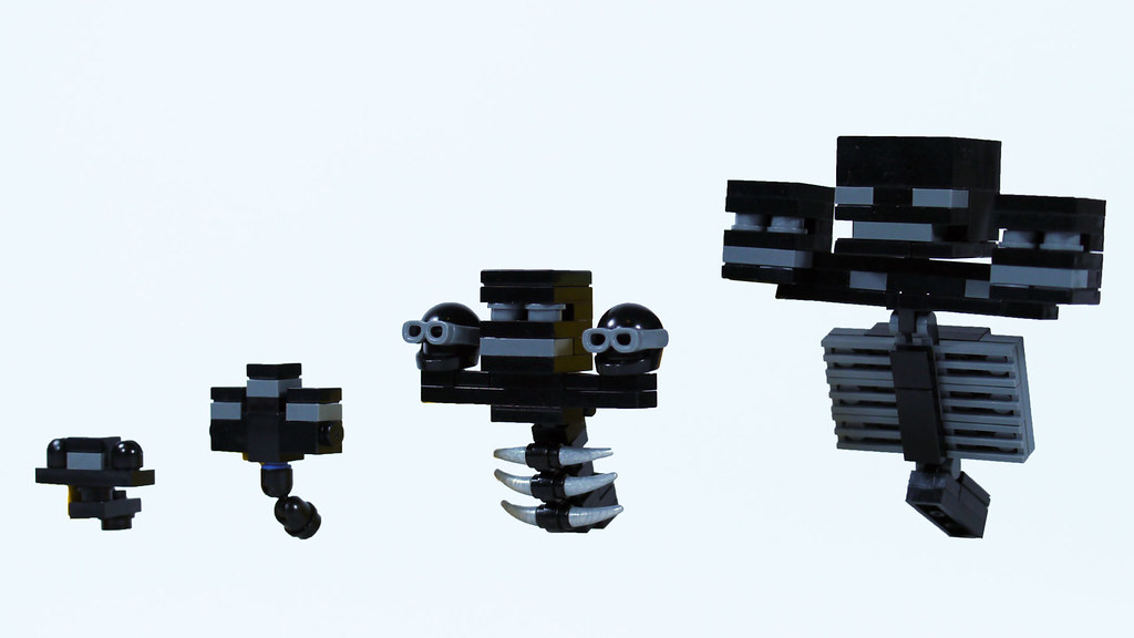 Lego Minecraft Wither See How To Build Them Www Youtube C Flickr