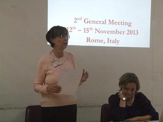 General Meeting - Rome - November 2013