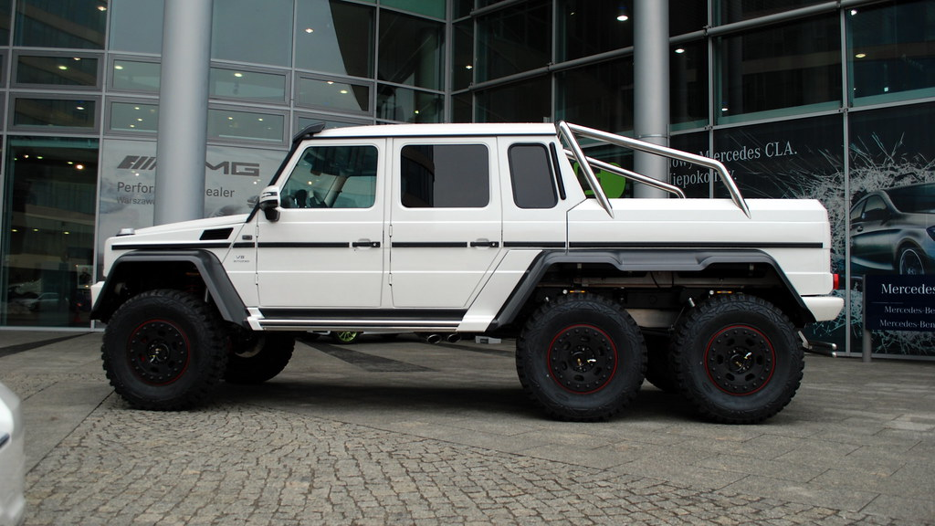 Image gallery mercedes g66 for Mercedes benz amg 6x6 price