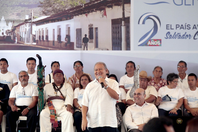 Festival del Buen Vivir y Gobernando con la Gente, Izalco