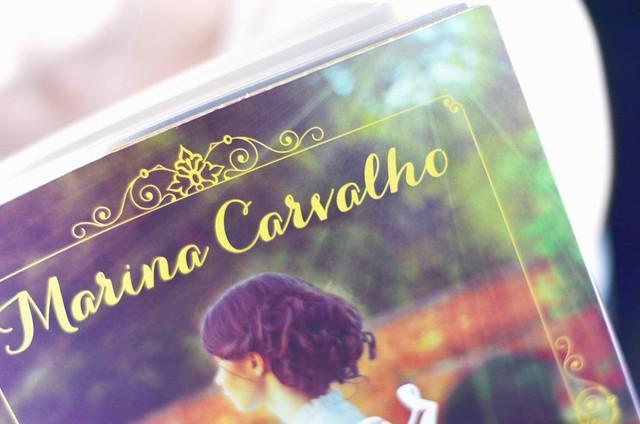 O amor nos tempos do ouro, Marina Carvalho