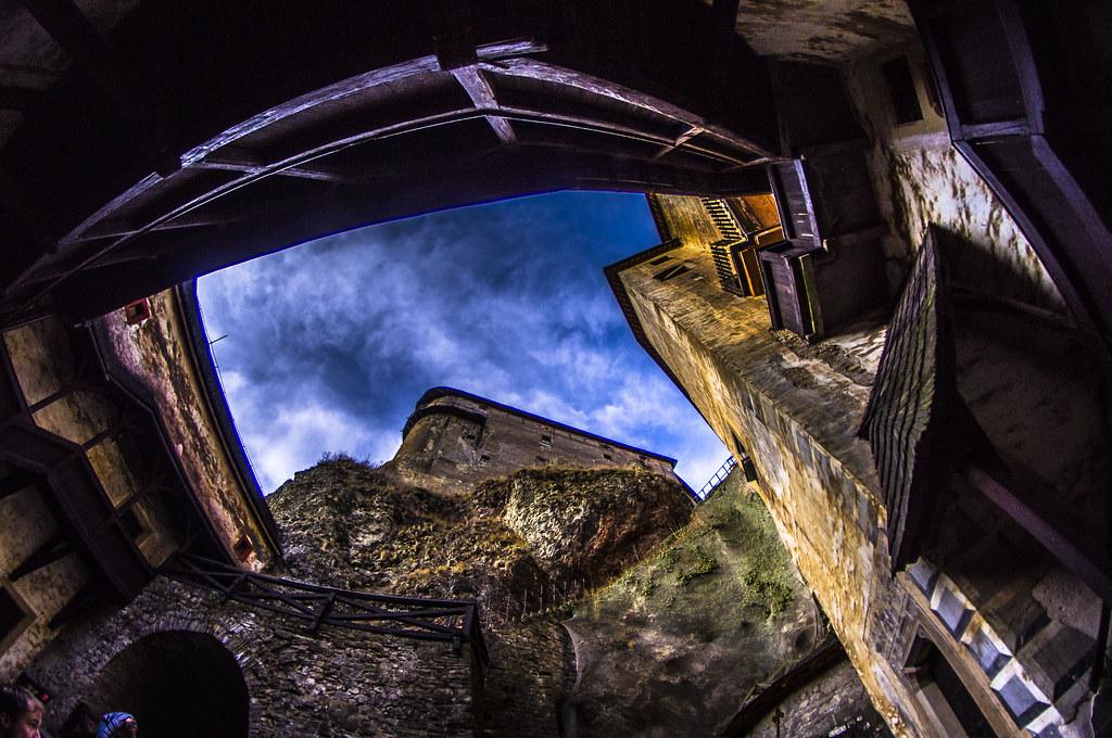 ORavský Hrad z vnutra