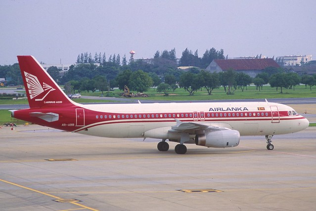AirLanka Airbus A320-231; 4R-ABB, April 1999