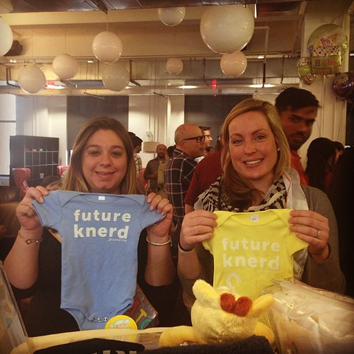 April showers bring May babies! Thanks to the #knewton team for some lovely gifts :) | by knewton_inc