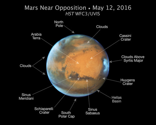 Hubble Takes Mars Portrait Near Close Approach | by NASA Goddard Photo and Video