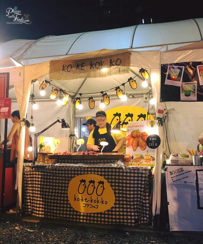 tgif fest bangkok food stall