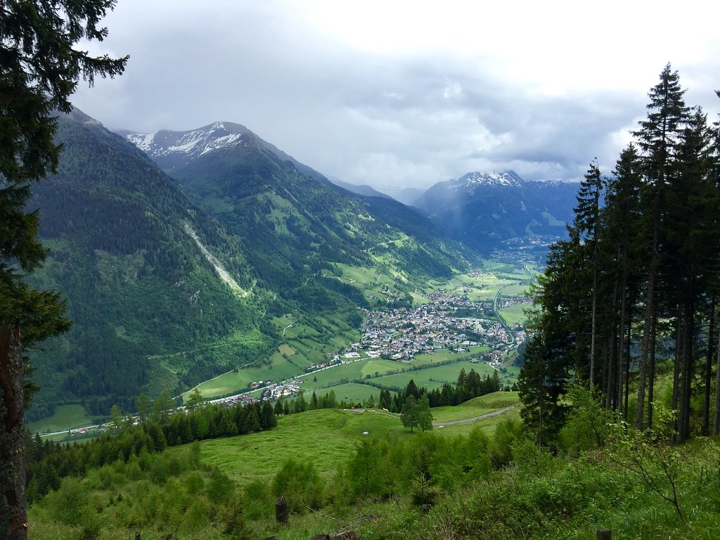 Bad Hofgastein from above