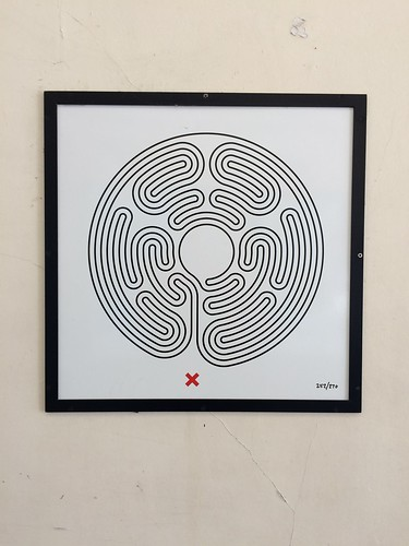 252/270 Ravenscourt Park Labyrinth - Original | by fawst66