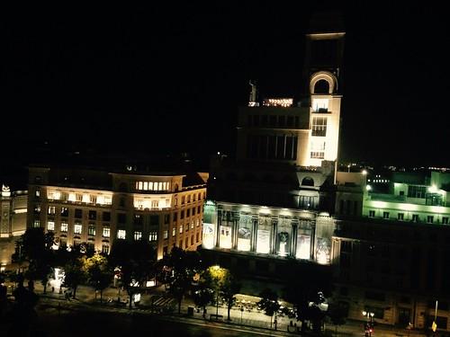 Calle Alcalá, Círculo de Bellas Artes. Madid