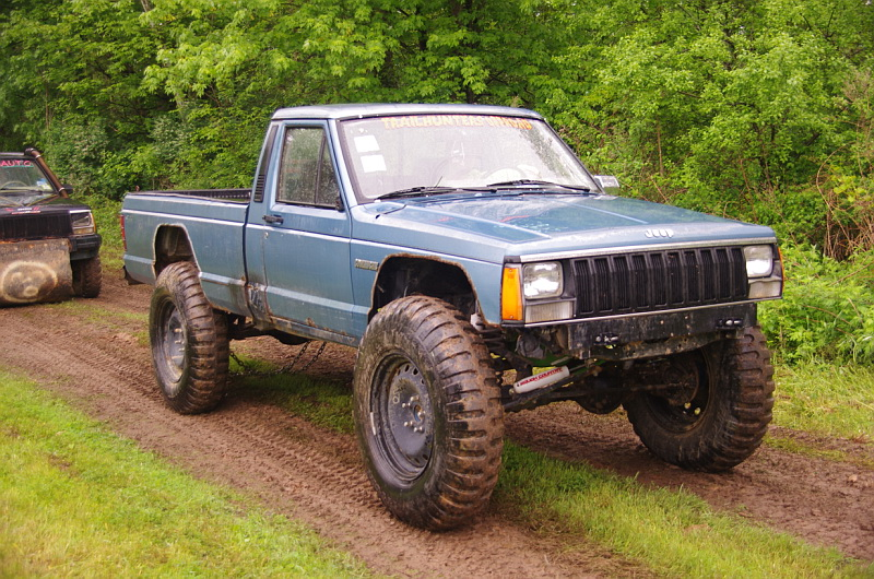 87 Jeep Comanche MJ On 90 Running Gear ing 35s | Flickr