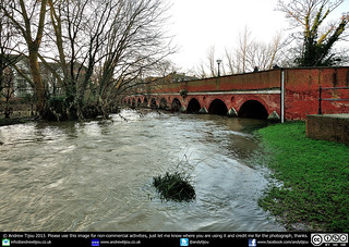 The River Mole Bursts Its Banks In Leatherhead | by andrewtijou