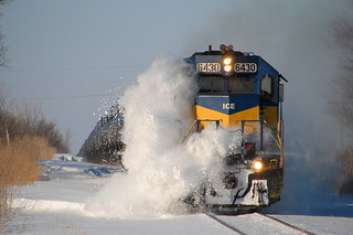 Breaking drifts, ICE Style | by wc_sd45_7500
