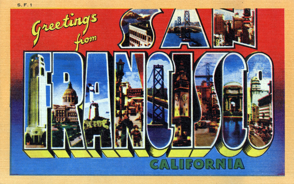 Greetings from san francisco california large letter pos flickr greetings from san francisco california large letter postcard by shook photos m4hsunfo