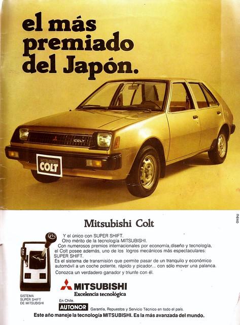 Mitsubishi Colt 1982 - Hoy (Chile), 1982 Enero