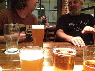 David and Nigel, Over Beers | by cogdogblog