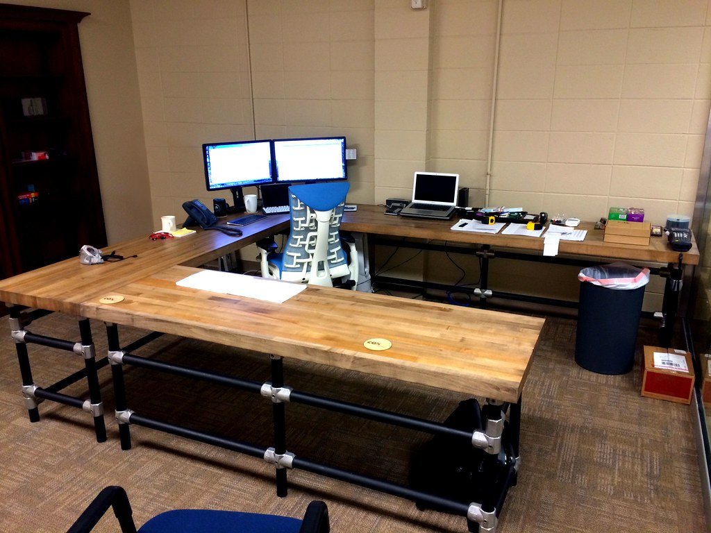 High Quality ... U Shaped Butcher Block Desk | By Simplified Building Concepts