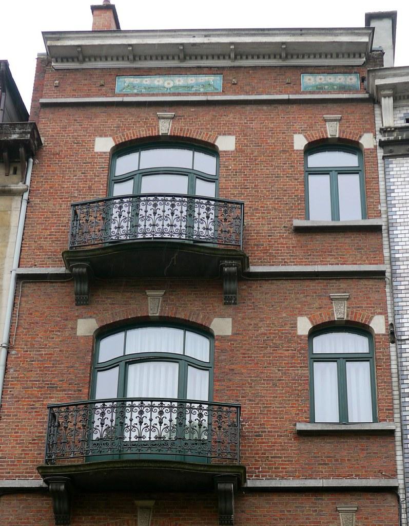 Bruxelles, Belgique: 4 rue de l\'Ermitage, maison de style … | Flickr