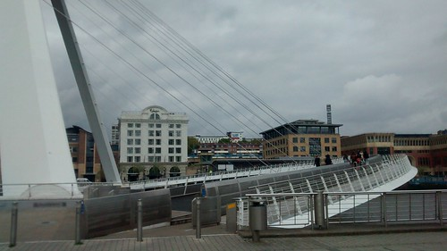 Gateshead Millennium Bridge May 16