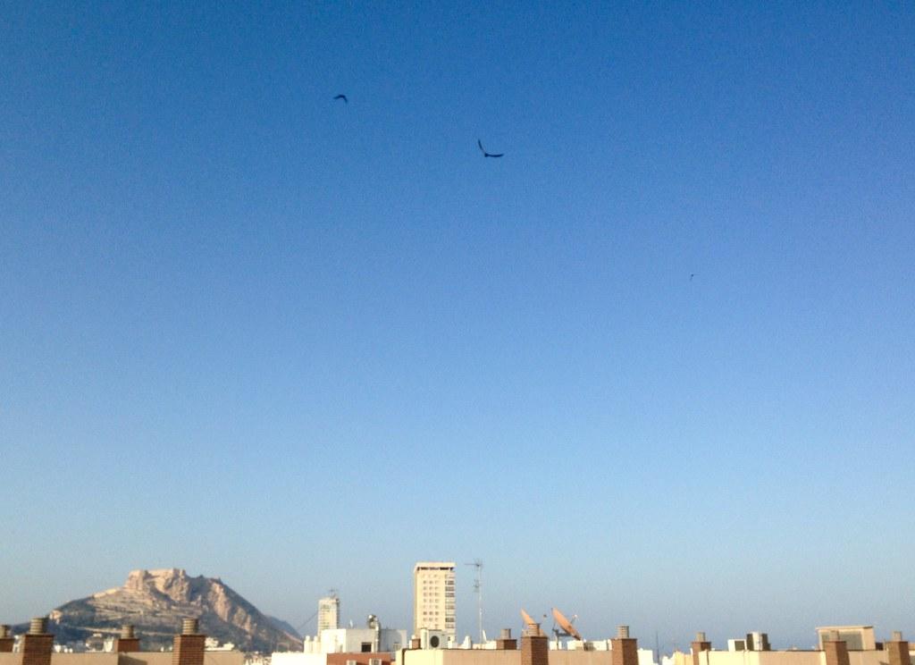 Cielo de Alicante, no me canso de mirarlo