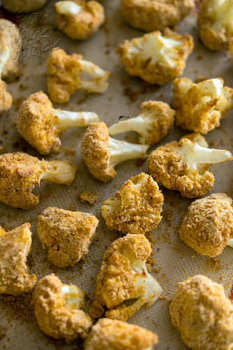 Almond-Crusted Cauliflower Bites | by Yack_Attack