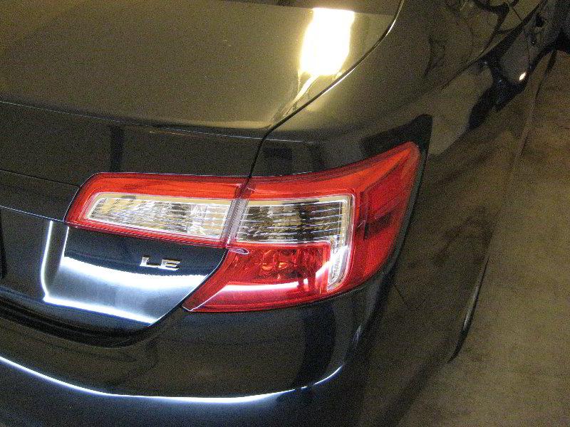 Brake light change 2012-2014 toyota camry 2012 toyota camry le.