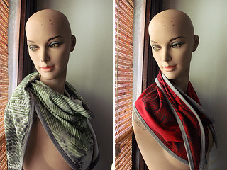 scarves | by jodigreen