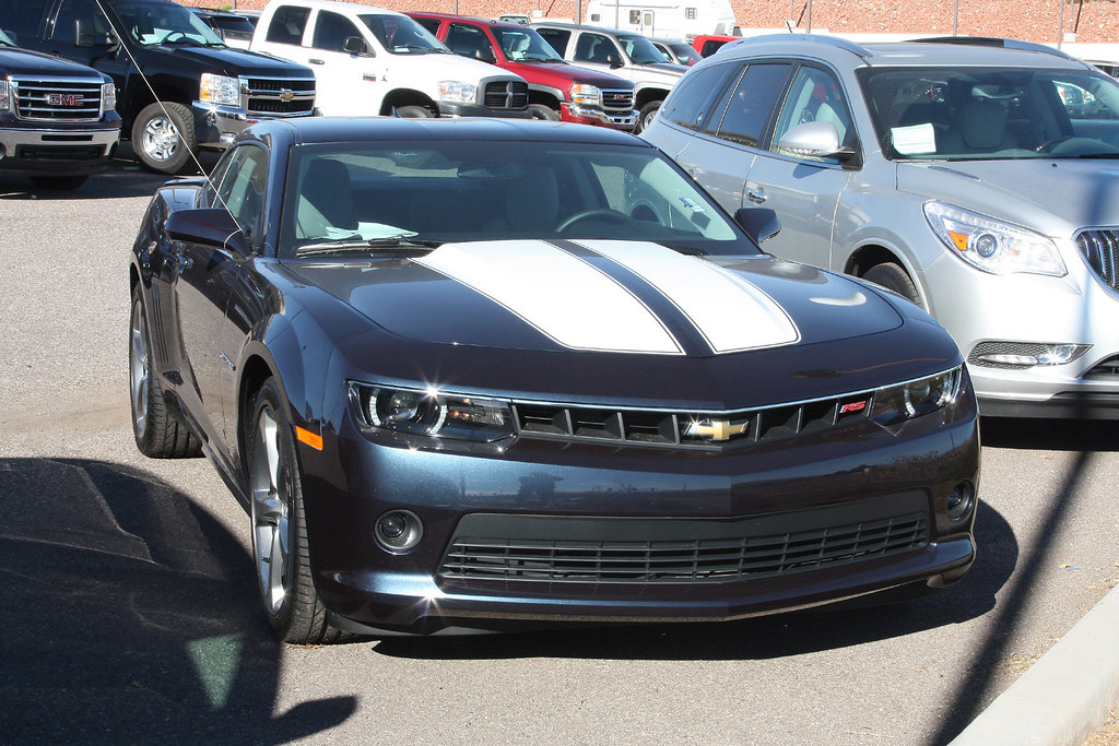 2014 Chevy Camaro RS   This color is called Blue Ray Metalli…   Flickr