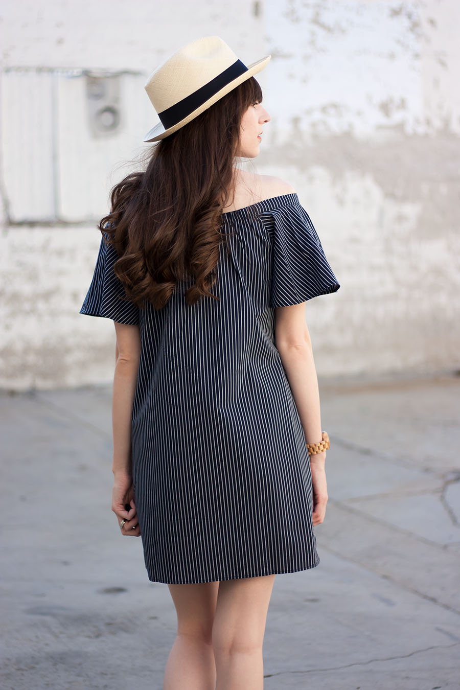 Off the Shoulder Dress, Banana Republic Dress