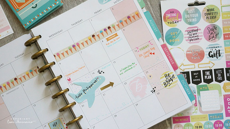 Plan With Me | July 2016 | LoveCharmaine.com